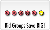 Bid Groups Save Big